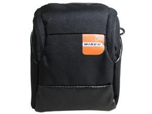 Winer Vita Big Size Camera Belt Case Bag S25 for Small DC M3/M4 System, Panasonic GF Series, Sony NEX Series, (S25-Black)