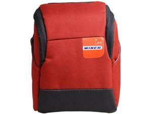 Winer Vita Big Size Camera Belt Case Bag S25 for Small DC M3/M4 System, Panasonic GF Series, Sony NEX Series, (S25-Red)