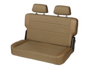 Bestop 39441-37 TrailMax II Fold And Tumble Rear Bench Seat