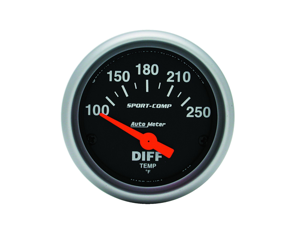 Auto Meter 3349 Sport-Comp Electric Differential Temperature Gauge