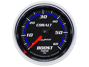 Auto Meter 6105 Cobalt Mechanical Boost Gauge