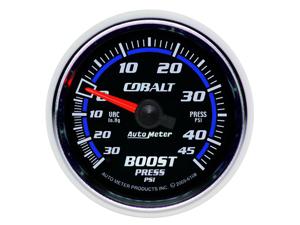 Auto Meter Cobalt Mechanical Boost/Vacuum Gauge