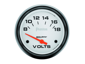 Auto Meter 5891 Phantom Electric Voltmeter Gauge