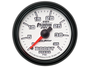 Auto Meter 7504 Phantom II Mechanical Boost Gauge