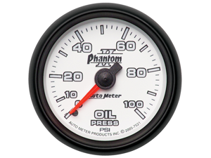 Auto Meter 7521 Phantom II Mechanical Oil Pressure Gauge