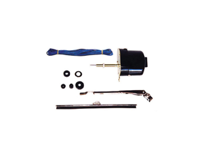 Omix-ada This 12-volt windshield wiper motor conversion kit from Omix-ADA fits 41-68 Ford/Willys/Jeep models.   19101.02