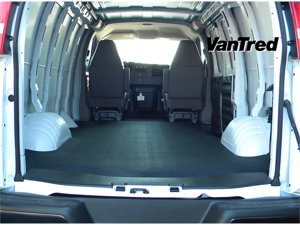 BedRug VTRG96X VanTred&#59; Virgin Rubber Cargo Mat