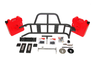 OR-FAB 85209BB Swing-Away&#59; Tire/Gas Can Carrier 07-12 Wrangler (JK)