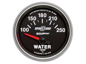 Auto Meter 3637 Sport-Comp II Electric Water Temperature Gauge