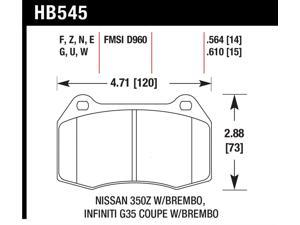 Hawk Performance HB545Z.564 Disc Brake Pad