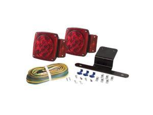 Optronics - Tll-9Rk - Led Waterproof Trailer Light Kit