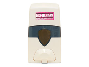 NO-GERMS Instant Hand Sanitizer Wall Dispenser, 1 Liter, White