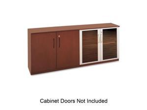 Veneer Low Wall Cabinet Without Doors, 72W X 19D X 29-1/2H, Sierra Che