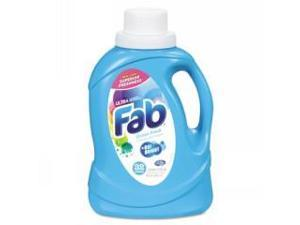 Fab Ultra 2X Liquid Laundry Detergent, Ocean Breeze, 50oz, Bottle