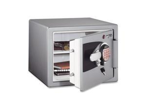 Electronic Fire Safe, 0.8 Ft3, 16-11/16 X 19-5/16 X 13-23/32, Gunmetal