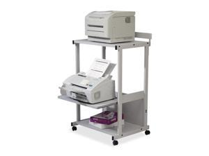 Max Stax Dual Purpose Printer Stand, 3-Shelf, 25w x 20d x 42-1/2h, Gra