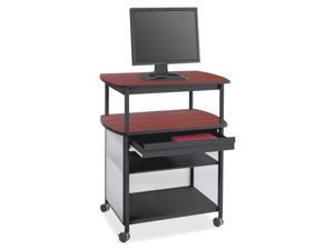 Impromptu Av Cart With Storage Drawer, Three-Shelf, 36-1/2 X 26 X 44,