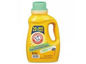 HE Compatible Liquid Detergent, Unscented, 50oz Bottle