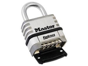 Proseries Stainless Steel Easy-To-Set Combination Lock, Stainless Stee