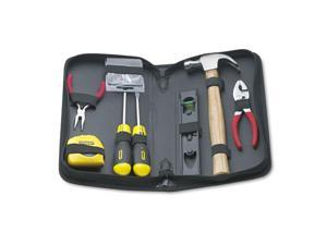 General Repair Tool Kit In Water-Resistant Black Zippered Case