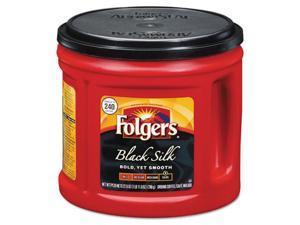 Large Can Coffee, Black Silk, 27.8 Oz Can