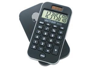 900 Antimicrobial Pocket Calculator, 8-Digit Lcd