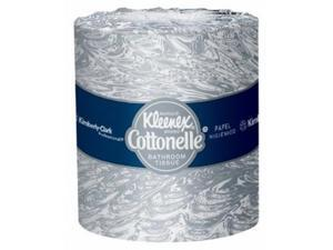 "KLEENEX 4.5""X40' STANDARD WHITE BATHROOM TISSUE"