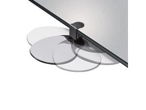 Clamp On Mouse Platform, 7-3/4W X 8D X 1/2H, Black