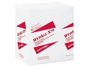 WYPALL X70 1/4 FLD RAG 12.5X14.4 1P WHI 12/76