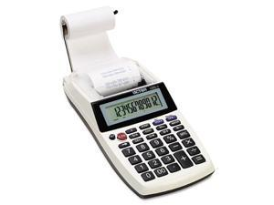 1205-4 Palm/Desktop One-Color Printing Calculator, Black Print, 2 Line