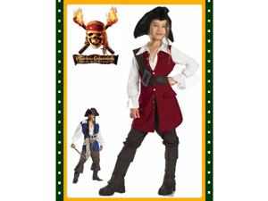 Pirates of the Caribbean Elizabeth Costume Large 10-12