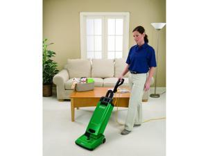 """BISSELL BigGreen Commercial BG15 Bagged Upright Vacuum, 6L Bag Capacity, 10"""" Cleaning Path, Green"""