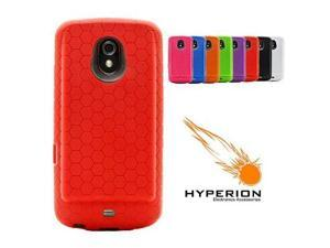 Hyperion Samsung Galaxy Nexus Extended Battery HoneyComb TPU Case Red