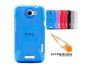 Hyperion HTC One X Matte Xtreme TPU Case Blue