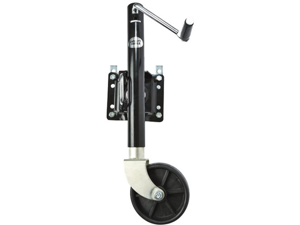Heavy Duty Adjustable Swing-Up Swivel Wheel Trailer Tongue Jack