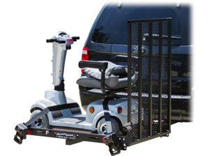 SC400-V2 Next Generation Power Scooter & Wheelchair Folding Cargo Carrier Rack by Discount Ramps