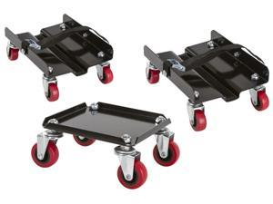 Black Ice Snowmobile Dolly Set (Package of 3)