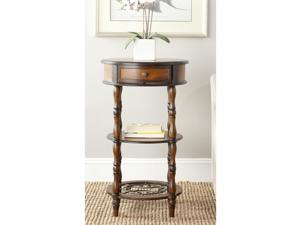 Safavieh Suzanne Dark Brown Side Table