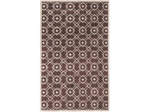 Hand-tufted Laren Green New Zealand Wool Rug (2' x 3')