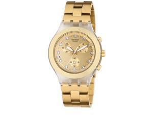 Swatch Men's Full Blooded Gold Stainless Steel Quartz Watch