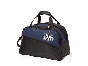 Picnic Time Navy Brigham Young University Cougars Tundra Duffel Cooler