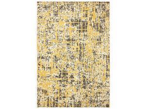 Karastan Panache Pixelated Creme Brulee Rug (9'6 x 12'11)