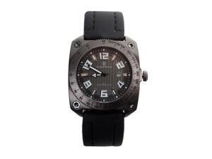 Smith & Wesson Men's Flight Deck Black Rubber Strap Watch