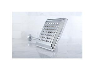 Claremont Chrome 8-in Square Metal Shower Head with Shower Arm