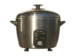 Sunpentown SC-887 6-cup Stainless Steel Cooker and Steamer
