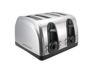 Brentwood Brushed Stainless Steel Finish 4-slice Toaster