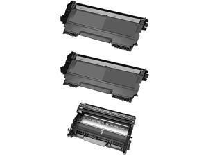 Brother TN450 Compatible Black Toner Cartridges / DR420 Compatible Drum Unit (Pack of 3)
