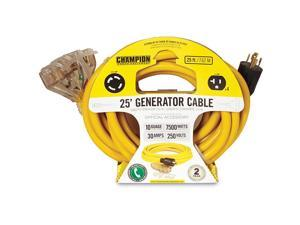 Champion 25-Foot Generator Power Cord with Weather Guard