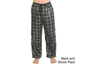 Del Rossa Men's Satin Pajama Pants