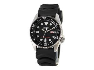 Seiko Men's Automatic Black Rubber Automatic Watch
